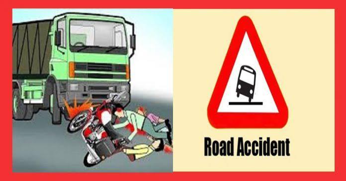 ट्रक दुचाकीचा अपघात :एक ठार एक जखमी !