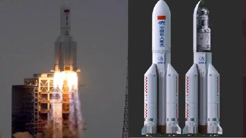 चीनचे रॉकेट अरबी समुद्रात कोसळले !